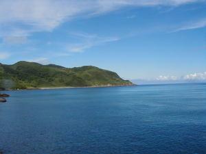 フェリー太陽から見た口永良部島