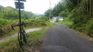 R176旧道を下っていく