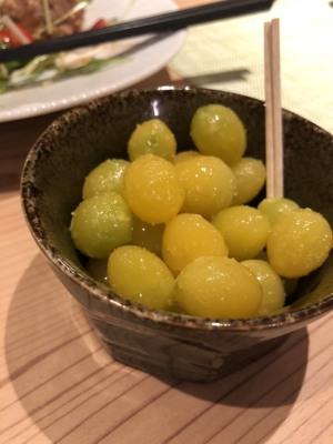 銀杏の煮物、日本酒にとても合う
